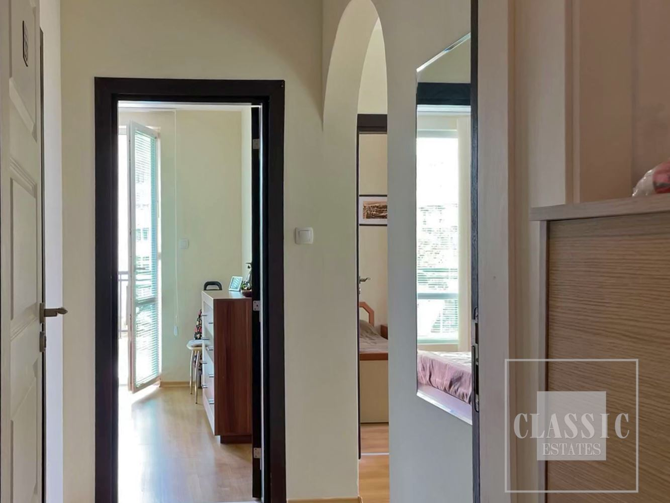 Furnished apartment only few meters from the beach